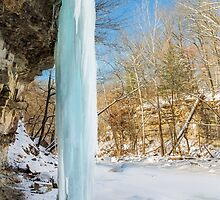 Icy Column by Kenneth Keifer