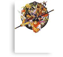 Suikoden 1 Cover (no text) Canvas Print