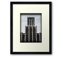 Castle Building Framed Print