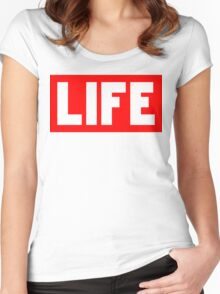 LIFE | Fresh Thread Shop Women's Fitted Scoop T-Shirt