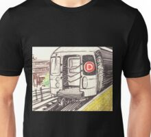 the d train Unisex T-Shirt
