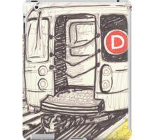 the d train iPad Case/Skin