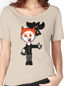 Lil Vlad and Boris the Bat.  Women's Relaxed Fit T-Shirt