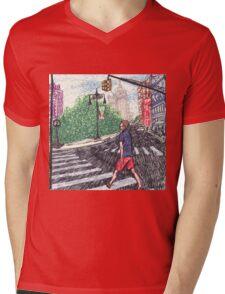 intense speedwalker Mens V-Neck T-Shirt