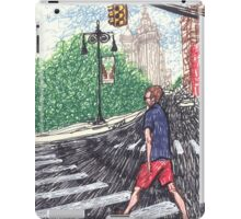 intense speedwalker iPad Case/Skin