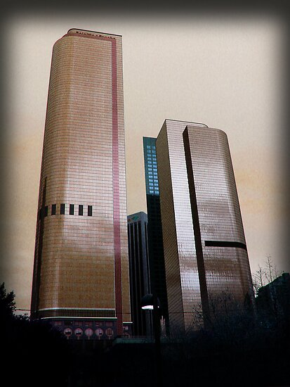 Bank Buildings by bchrisdesigns