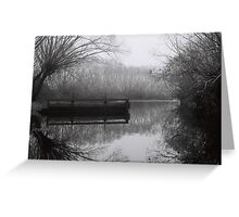 South Esk River, Perth Greeting Card