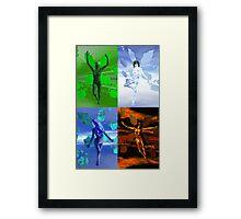 Elemental V Framed Print