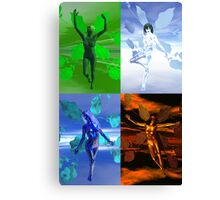 Elemental V Canvas Print