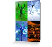 Elemental V Greeting Card