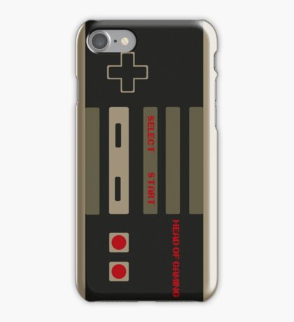 Head Of Gaming Controller Style Merchandise iPhone Case/Skin