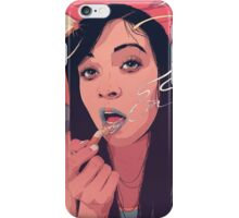 Moth Queen iPhone Case/Skin