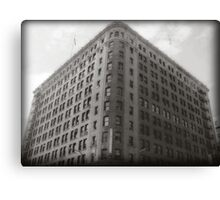 Building from the Past Canvas Print