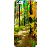 Deep In The Woods of Light & Color iPhone Case/Skin