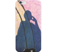 shadow selfie and busted sneaker iPhone Case/Skin
