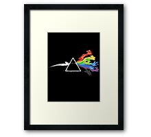 Pokemon Evolutions - Pink Floyd Mashup Framed Print