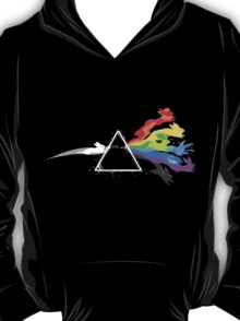 Pokemon Evolutions - Pink Floyd Mashup T-Shirt