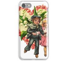 VALENTINE SWEETHEART SKATERS iPhone Case/Skin