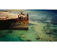 Heron Island Shipwreck, Australia Photographic Print