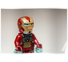 Iron Man Stare Poster
