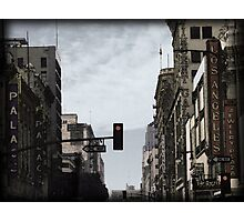 Old Theater District Photographic Print