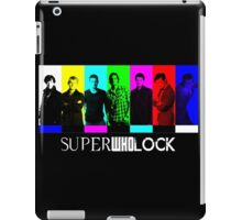 SuperWhoLock TV Color Screen iPad Case/Skin