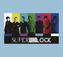 SuperWhoLock TV Color Screen Kids Clothes