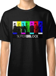 SuperWhoLock TV Color Screen Classic T-Shirt