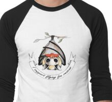 I support flying-fox rescue Men's Baseball ¾ T-Shirt