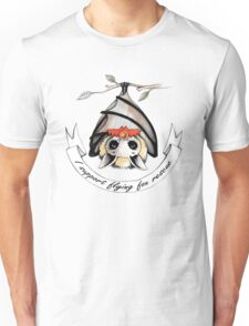 I support flying-fox rescue Unisex T-Shirt