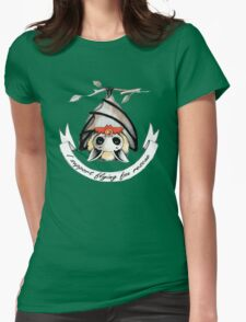 I support flying-fox rescue Womens Fitted T-Shirt