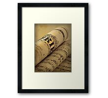 Grieg Piano Concerto Framed Print