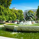 Joy of Life: Fountain Hyde Park London by DonDavisUK