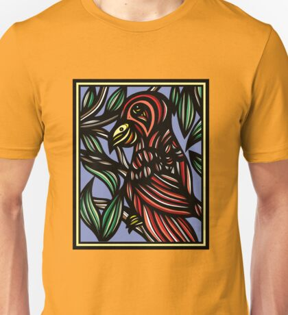 Parrot, Artwork, Drawing Unisex T-Shirt