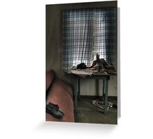 'Everything that left' Greeting Card