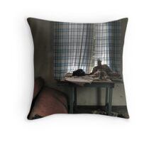 'Everything that left' Throw Pillow