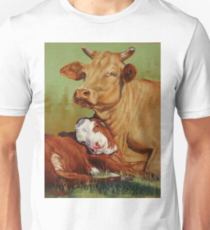 Mother And Daughter Unisex T-Shirt