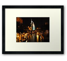 Burj Al Arab in Dubai Framed Print