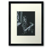 Patti Smith Framed Print