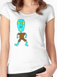 Stop Looking at Me! Women's Fitted Scoop T-Shirt