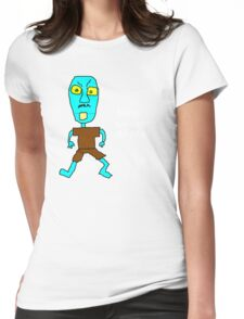 Stop Looking at Me! Womens Fitted T-Shirt