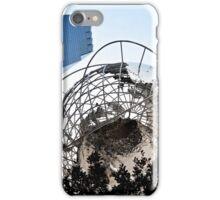 Columbus circle iPhone Case/Skin