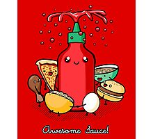 Awesome Sauce Photographic Print