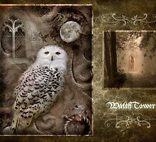 Watchtower reworked.  by Angie Latham