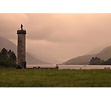 Glenfinnan Monument Photographic Print
