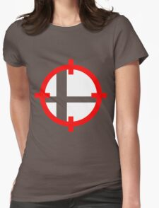 Smash Bros. Duck Hunt Womens Fitted T-Shirt