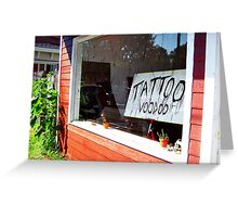 GALLERY WINDOW, RED HOOK NY Greeting Card