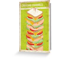 Supernatural 5x08 - Changing Channels Greeting Card