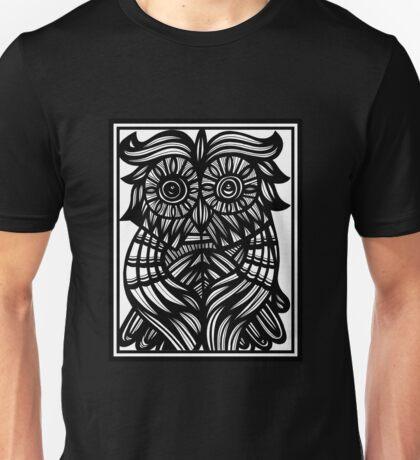 Owl, Artwork Unisex T-Shirt