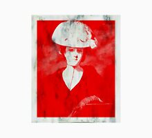 RED DAME IN HAT AFTER REYNOLDS Unisex T-Shirt